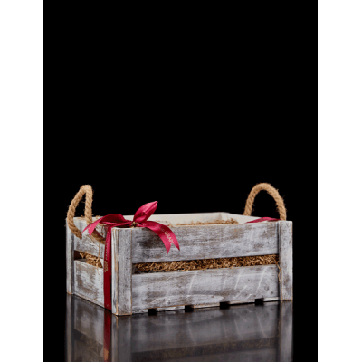 Large rectangular crate with details