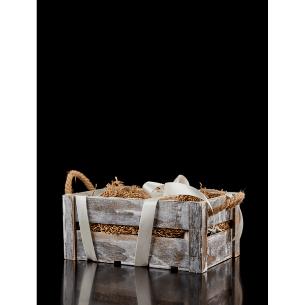 Small rectangular crate with details