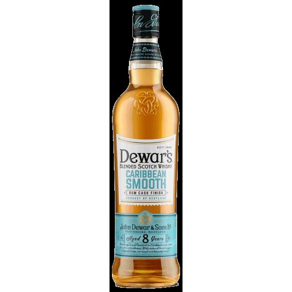 Dewar's 8 Yo Caribbean Smooth Rum Cask Finish Whisky