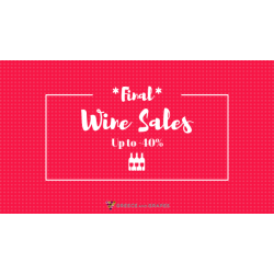 End of Wine Sales at Greece and Grapes, up to -40%!