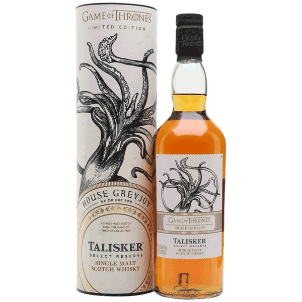 Talisker Select Reserve House Greyjoy (Game of Thrones Collection)