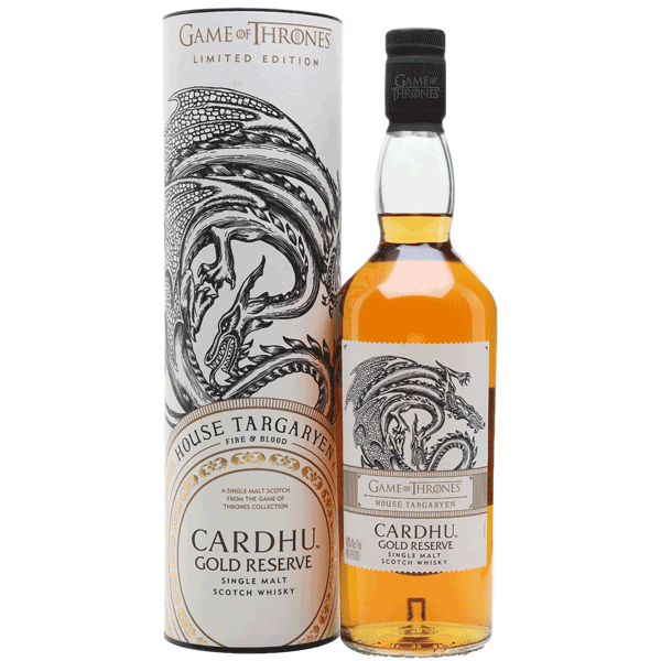 Cardhu Gold Reserve House Targaryen (Game of Thrones Collection)