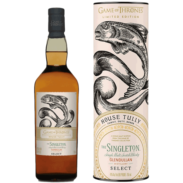 The Singleton Glendullan Select House Tully (Game of Thrones Collection)