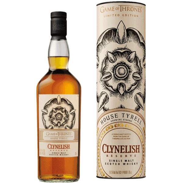 Clynelish Reserve House Tyrell (Game of Thrones Collection)