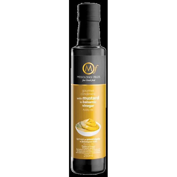 Messolongi Fields Gourmet Condiment with Mustard