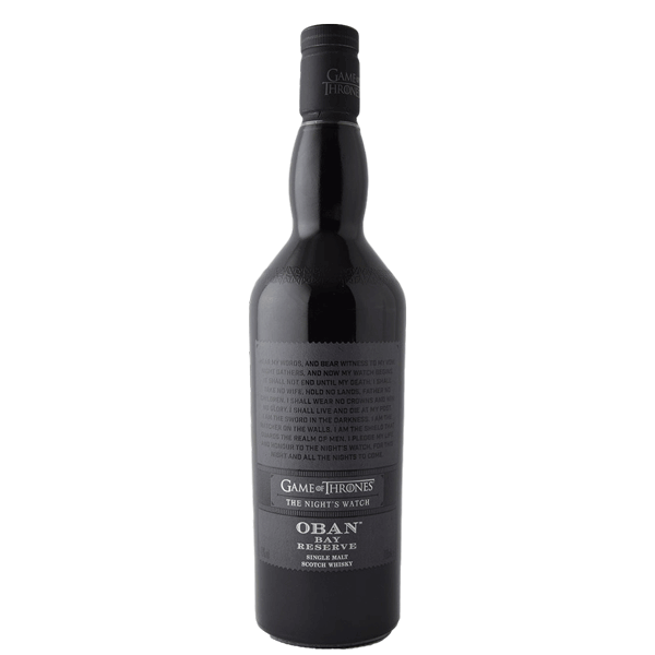 Oban Bay Reserve Night's Watch (Game of Thrones Collection)