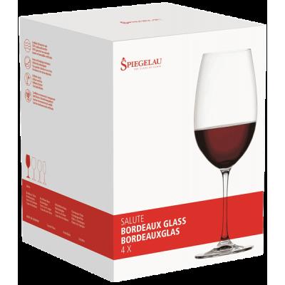 Salute Ποτήρι Bordeaux (Σετ 4 τμχ.)