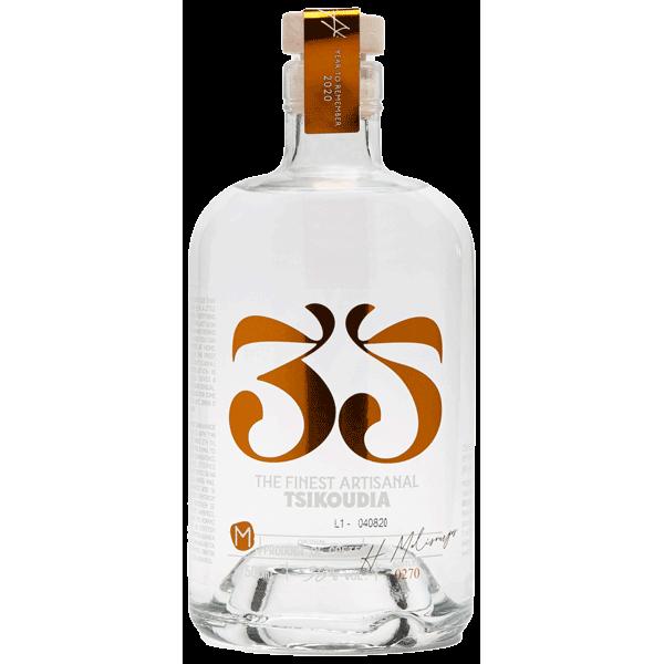 Tsikoudia 35n Moscato 500ml