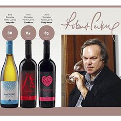Βραβευμένα Ελληνικά λευκά κρασιά - Robert Parker 2018