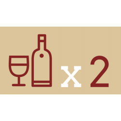 Combining and comparing wines for double delight