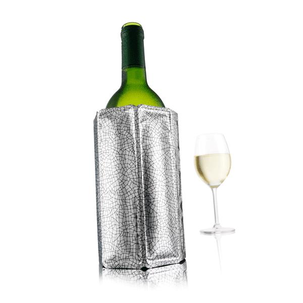 Active wine cooler Silver (2 pieces)