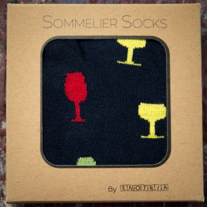 Socks for Winelovers Enotria