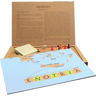 Wine board game Enotria