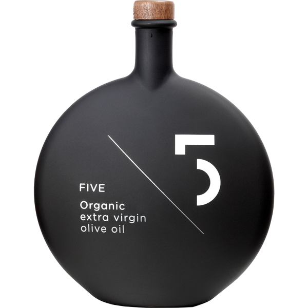 Five - Organic Extra Virgin Olive Oil 500ml
