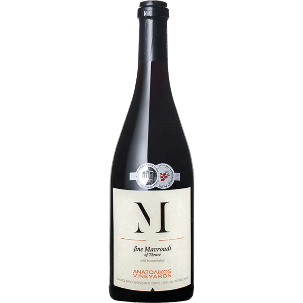 Anatolikos Vineyards fine Mavroudi 2018
