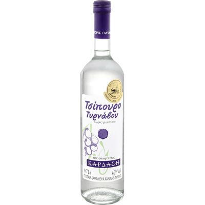 Tsipouro Tirnavou without anise