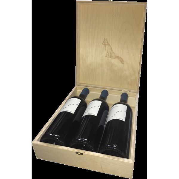 Kir Yianni Mple Alepou (Blue Fox) 2017 - 3 bottle case
