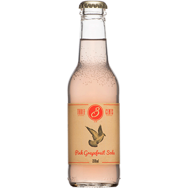 Three Cents Pink Grapefruit Soda | Greece and Grapes