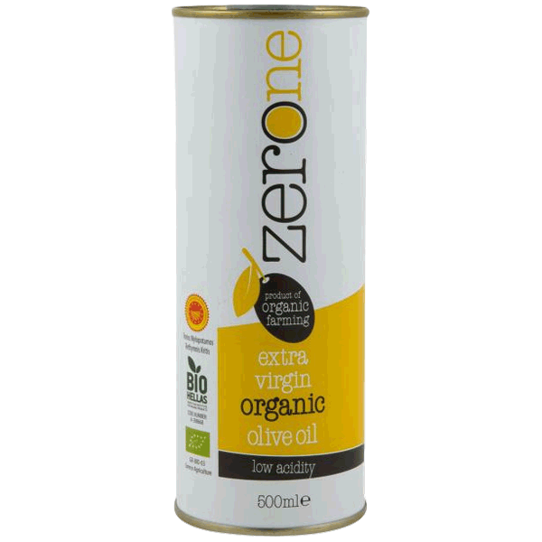 Zero One Οργανικό Παρθένο Ελαιόλαδο Κίτρινο 500ml