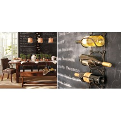Decorative ideas for wine bottle storing